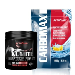 CarboMax Energy Power Dynamic 1kg + Kumite