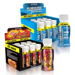 Energy Shot 12 x 100ml + Guarana 2000 12 x 100ml
