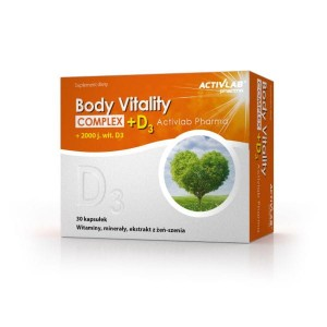 Body Vitality Complex + D3