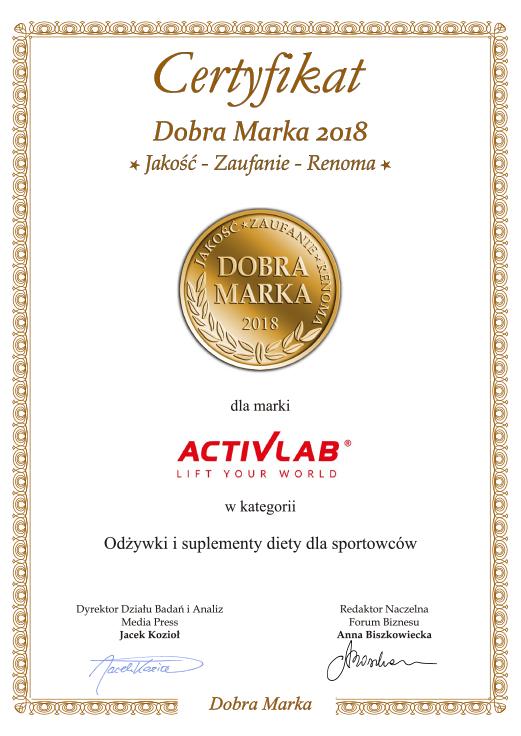 Activlab Dobra Marka 2018